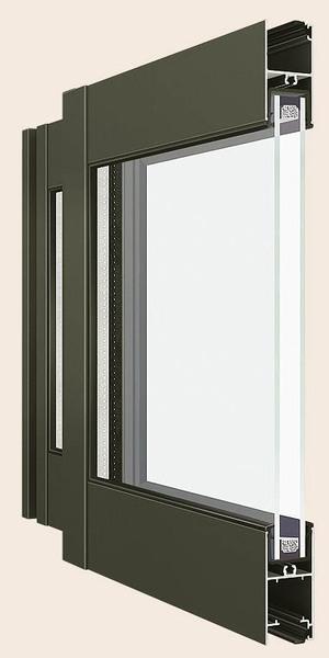 断熱サッシ一般複層ガラス 既存窓が普通複層ガラスでサッシが断熱サッシの場合 図のサッシを断熱サッ